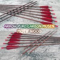 Arrow Pure Carbon Musen Motif Wood ID 6.2mm