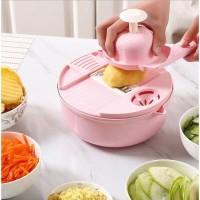 Alat Pemotong Sayur Parutan Sayur Serbaguna 12 in 1/ Peralatan Perleng
