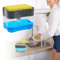 Sabun Dispenser Dapur Manual Tekan Pompa Sabun Cair Dispenser Cuci Spo
