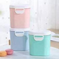kotak susu bubuk anti tumpah wadah penyimpanan traveling