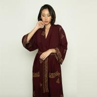 Red Kimono Prada Dress