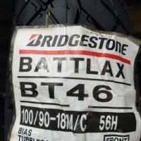 Ban 100/90-18 BT46 Bridgestone Battlax Depan Front RX King Ninja