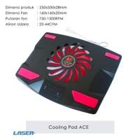 Cooling pad Cooler Pad Fan - Kipas Pendingin Laptop - NC-32 NC32