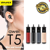 AWEI T5 Dual TWS Airpods Earphone Bluetooth