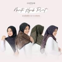 Cotton Inch - Nevita Hijab Print Aztec Segi Empat