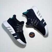 Sepatu Adidas EQT Support ADV Bask / BasketBall Core Black Sub Green