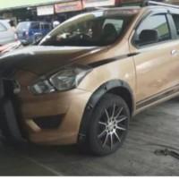 Over fender Datsun Go plus Go+ model baut2 variasi bahan fiberglass ok