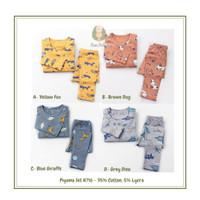 Piyama Import H716 Anak Laki Laki dan Perempuan |Piyama Set Baju Tidur