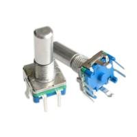EC-11 Rotary Encoder EC11 Audio Digital Potensiometer 5p D Handle 15mm