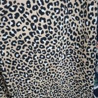 kain katun zarra motif kulit macan/bahan baju gamis/longdres/dll