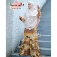 gamis motif bahan rayon AYANA DRESS VOL3 by HOU