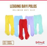 Legging Bayi Polos Cotton Rich Tights Tutup Kaki   Reliwear Baby