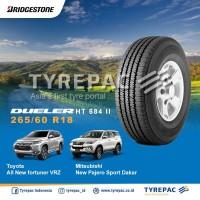 Ban Toyota All New Fortuner 265/60 R18 - Bridgestone Dueler H/T 684 II