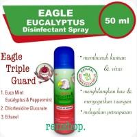 EAGLE EUCALYPTUS DISINFECTAN SPRAY 50 ML