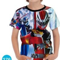 Baju Power Ranger Ninja Steel Kartun Series Anak #276