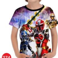 Baju Power Ranger Ninja Steel Kartun Series Anak #274