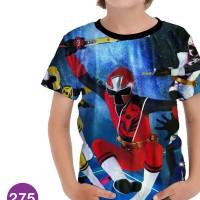Baju Power Ranger Ninja Steel Kartun Series Anak #275