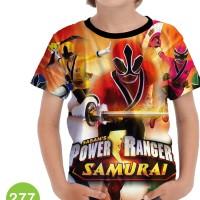 Baju Power Ranger Ninja Steel Kartun Series Anak #277