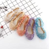 Sepatu Jelly Princess Cinderella Frozen ELSA Sepatu Pesta ANAK MURAH