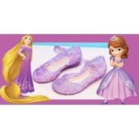 Sepatu Kaca Sepatu Jelly Sepatu Princess Rapunzel Sofia The First ANAK