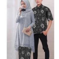 Ready Enam Warna Baju Couple Cople Kapel Samaan Pasangan Kemeja Batik