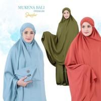 Mukena Bali Dewasa Katun Rayon Polos Jumbo Sakeena Premium