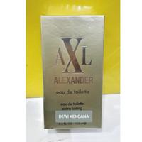 AXL Alexander Eau De Toilette 125ml / Parfum Spray Natural Gold