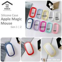 Casing Apple Magic Mouse 1 2 Case Rubber Silicone LOOP AROUND AMC-003 - Aqua