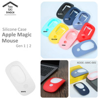 Casing Apple Magic Mouse 1 2 Case Rubber Silicone FULL COVER AMC-005