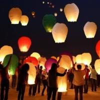 Lampion Terbang / Sky Lantern / Flying Lantern / Lentera Terbang 5 pcs