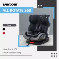 Carseat Babydoes Isofix Ch 8748 All_Rotate Dudukan bayi di mobil