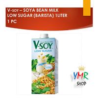 Vsoy Susu Kedelai Low Sugar or Barista  V-soy Soya Milk 1 Liter UHT