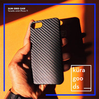 iPhone 7 7 Plus Slim Grid Case   Soft Semi Hard Casing Silicone TPU 7+ - iPhone 7