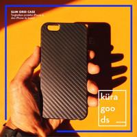 iPhone 6 6s Plus + Slim Grid Case   Soft Semi Hard Casing Silicone TPU - iPhone 6