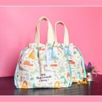 Mini Drawstring Tote Goodie Bag Ultah Custom