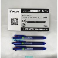 PENA PILOT FRIXION 3 in 1 0.5mm Warna warni Bisa Di Hapus [ 1 Buah ]