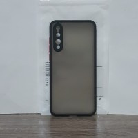 Huawei p20 pro silicone camera lens protection translucent matte case