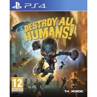 Destroy All Humans Region 2 - PS4