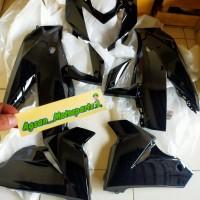 full body fairing depan ninja 250 rr mono 250 SL hitam original Kawasa