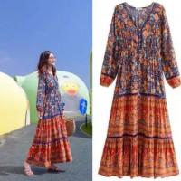 Talie Bohemian Style Dress Baju Wanita CNS