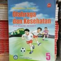 buku BSE : Pendidikan jasmani olahraga dan kesehatan untuk SD/Mi kls 5