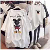 T Shirt Oversized xxl Paintng Mickey Mouse