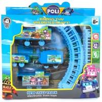 Mainan anak kereta api rel BO / electric train karakter