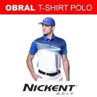 Nickent Polo Kaos/Baju/Jersey Olah Raga Golf Tenis Badminton | Grey