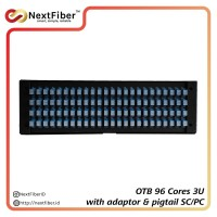OTB / ODF 96 Cores 3U Indoor SC/UPC Pigtails & Adapter