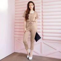 Setelan Baju dan Celana Wanit Bahan Scuba Premium / Best Seller