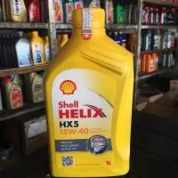 Oli Shell HELIX HX5-15W40 1Liter (Dijamin Asli)