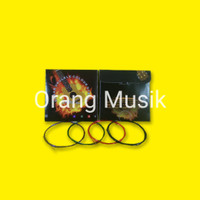 Senar Gitar Ukulele Warna 4 Strings