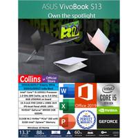 ASUS VIVOBOOK S13 S333JQ i5-1035G1 8GB 512GB+32GB MX350 2GB 14FHD W10