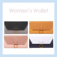 MINISO Dompet Wanita Panjang Wallet Simple Vintage Elegant Metal Logam